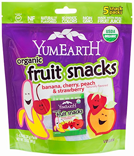 YumEarth Organic Fruit Snacks, 5 Count