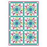 Sprinkle Sunshine Sister's Choice Pre-Cut 6 Block Quilt Kit by Maywood Studio