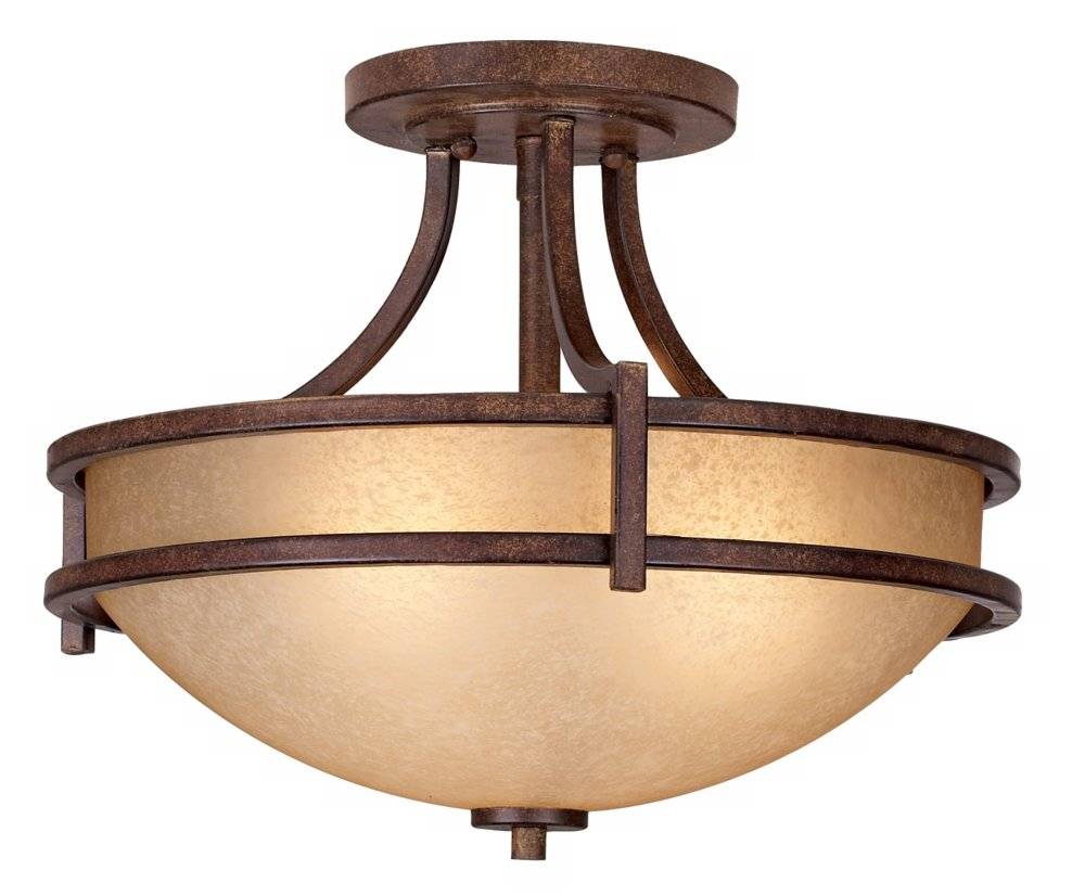 Oak valley collection 18 wide scavo glass ceiling light semi oak valley collection 18 wide scavo glass ceiling light semi flush mount ceiling light fixtures amazon arubaitofo Choice Image