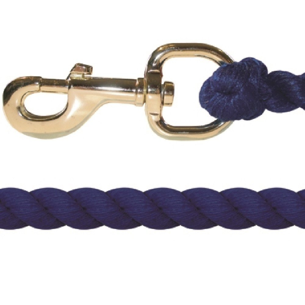 JHL Super Cotton Lead Rope (One Size) (Royal) UTTL2543_3