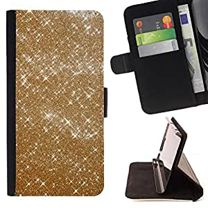 For Samsung Galaxy S3 III I9300 Gold Sparkle Bright Bling Fashion Design Style PU Leather Case Wallet Flip Stand Flap Closure Cover