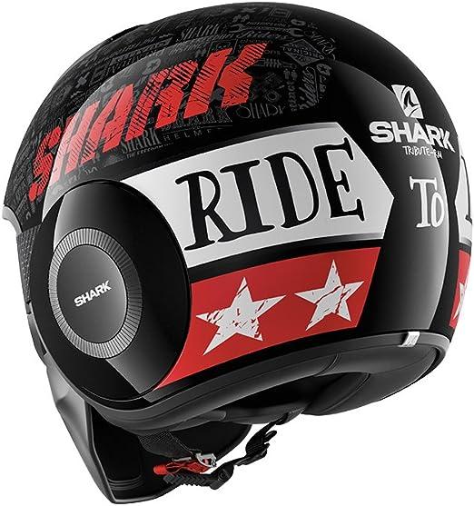 Shark HE2905 Raw Urban Casque De Moto Moto R/étro