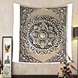 Carolyn J. Morin Custom tapestry decorative art of lanna thai engraving of the silver value
