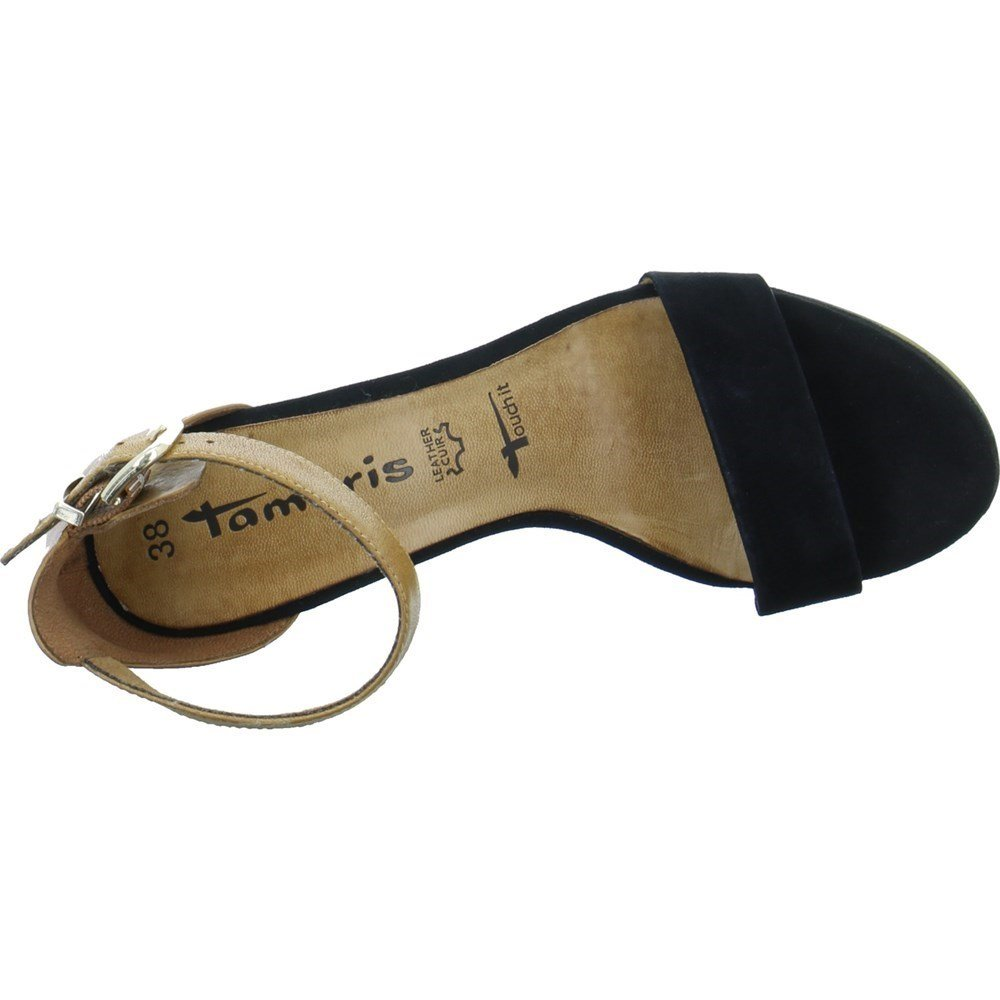 Tamaris Damen Sandaletten Da.-Sandalette Da.-Sandalette Sandaletten 1-1-28382-20-033 schwarz 402818 afa609