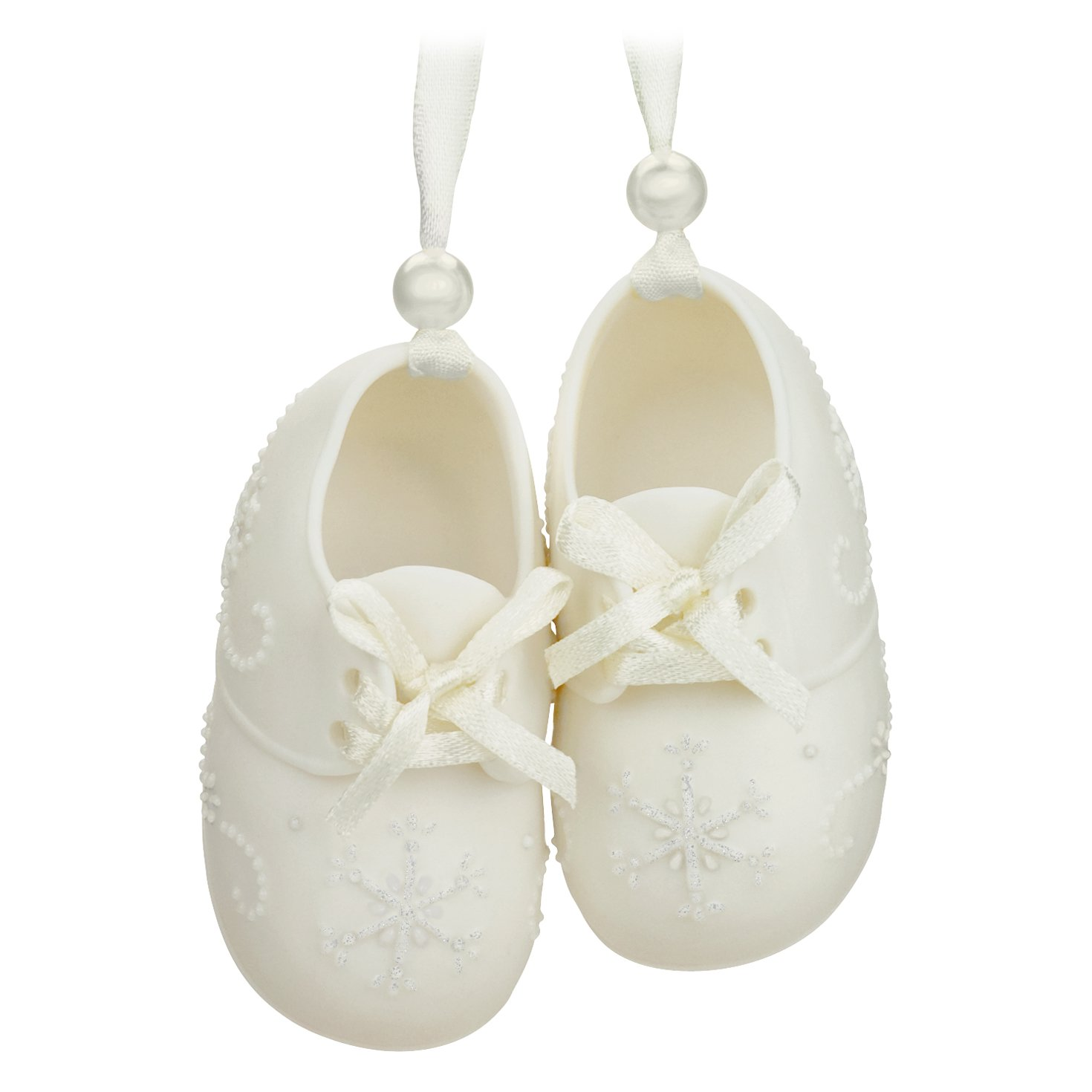 "Amazon Hallmark Keepsake Baby s First 2016 ""Baby Shoes"" Dated"