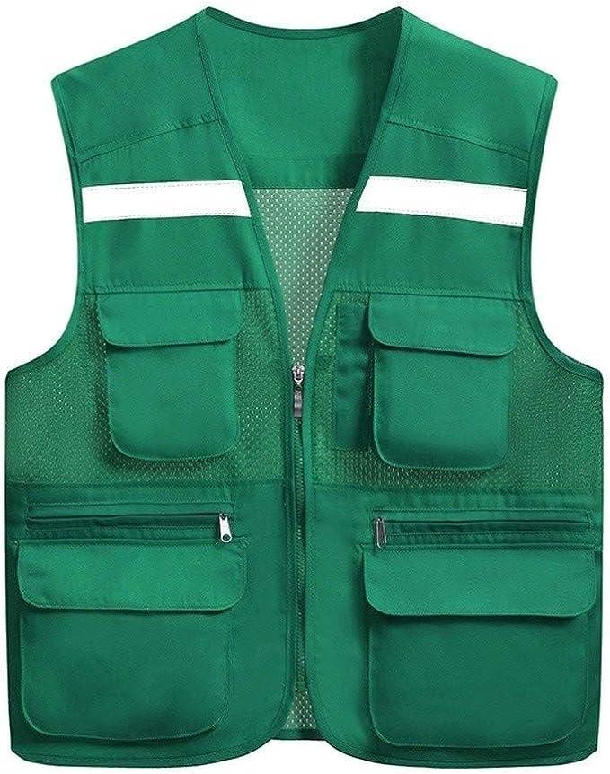 Zipper safety vestReflective Vest, High Visibility Vest