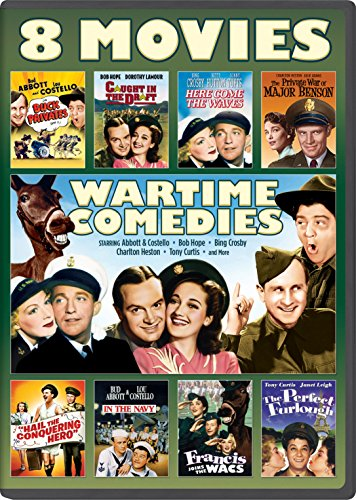 Wartime Comedies 8 Movie Collection Abbott product image