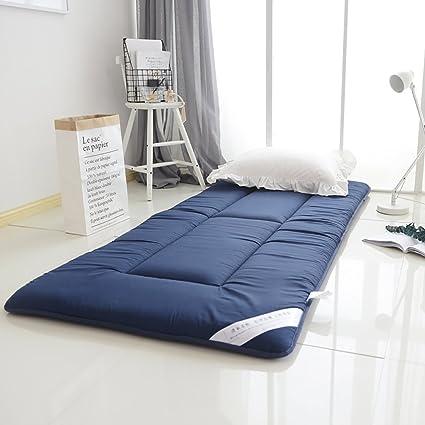 DULPLAY Antideslizante Primeros del colchón,Tatami Colchón,Abajo de algodón Cama Doble tamaño Colchones