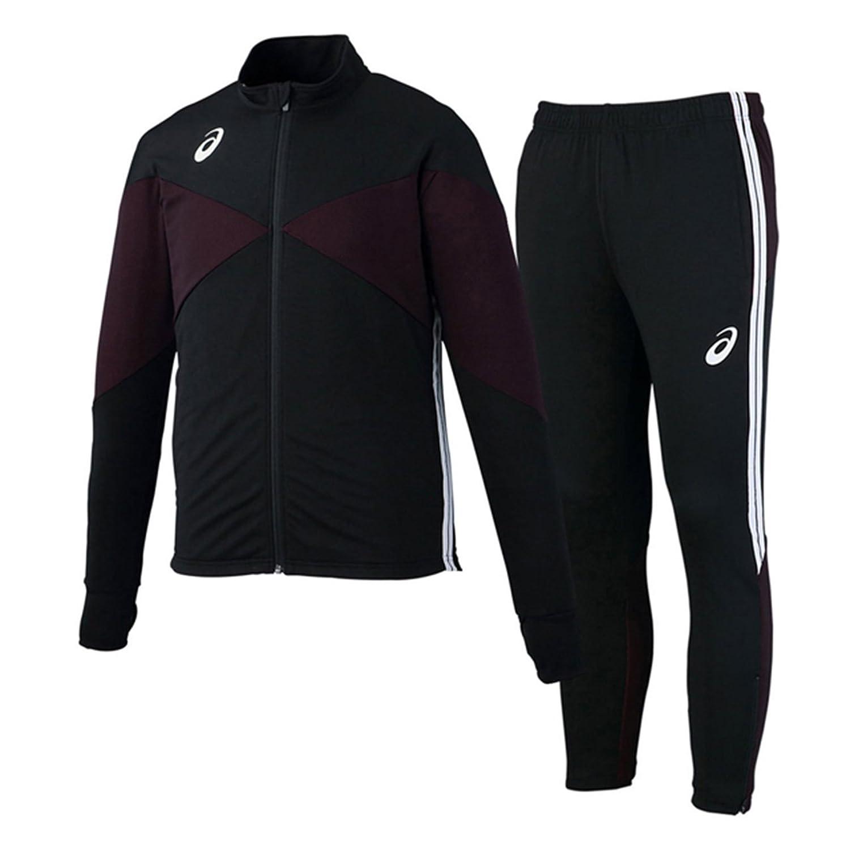 アシックス(asics) トレーニングジャケット&トレーニングパンツ 上下セット(ブラック/ブラック) XST181-90-XST281-90 B079WTXYSQブラック/ブラック S
