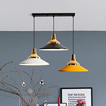 CCSUN Nordic Lámpara de colgante, Aluminio Comedor Colgante luz ...