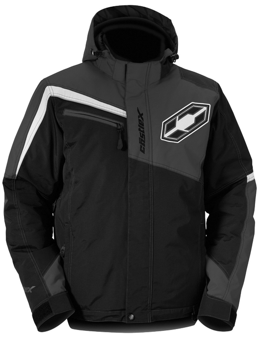 Castle X Phase Mens Snowmobile Jacket - Black - MED