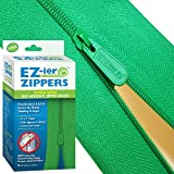 Heavy Duty Adhesive Zippers (2 Pack), Commercial Grade, 3'' x 7 ft. by EZ-ier Products