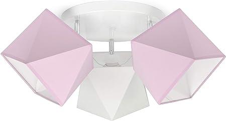 Kinderlampe Kinderleuchte Deckenlampe Kinderzimmer Lampe Kronleuchter Pink