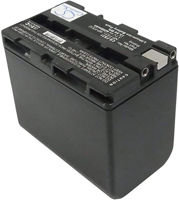 caricabatterie casa//auto per Sony DCR-PC330E,DCR-PC6,DCR-PC6E Batteria Patona