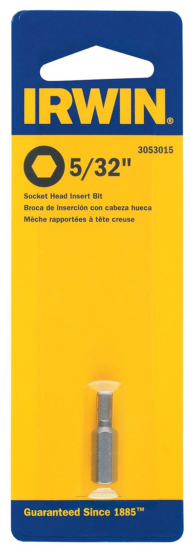 Irwin Tools 3053015 Insert Bit 5/32 Hex Head for Fastener Drive, 1 1