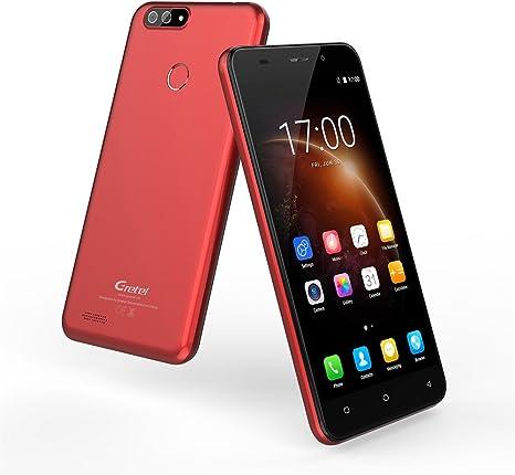 Gretel S55 4 G Smartphone Dual SIM frontal Huella Dactilar Touch ...