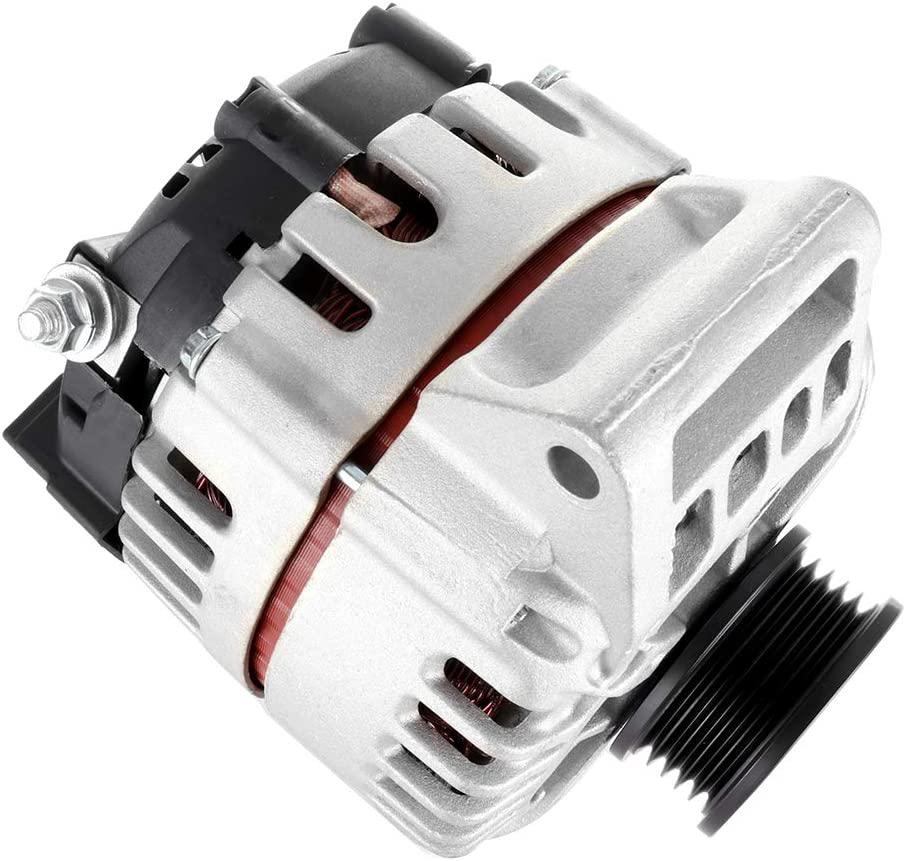 SCITOO Alternator OE Fit for 2.2L 2.2 Pontiac Grand 2002-2004 Saturn Ion 2003-2007