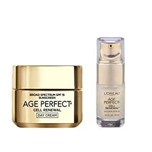 L'Oreal Paris Age Perfect Cell Renewal Day and Cell Renewal Golden Serum
