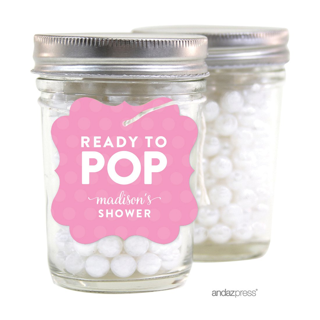 Amazon.com: Andaz Press Ready to Pop Baby Shower Collection ...