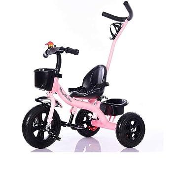 Triciclo para niños, Bicicleta, 1-5 años de Edad, Carro de bebé, Carrito de Juguete para bebé, Coche para niños (Color : A): Amazon.es: Hogar