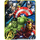 Marvel's Avengers Defend Earth Fleece Throw - 46