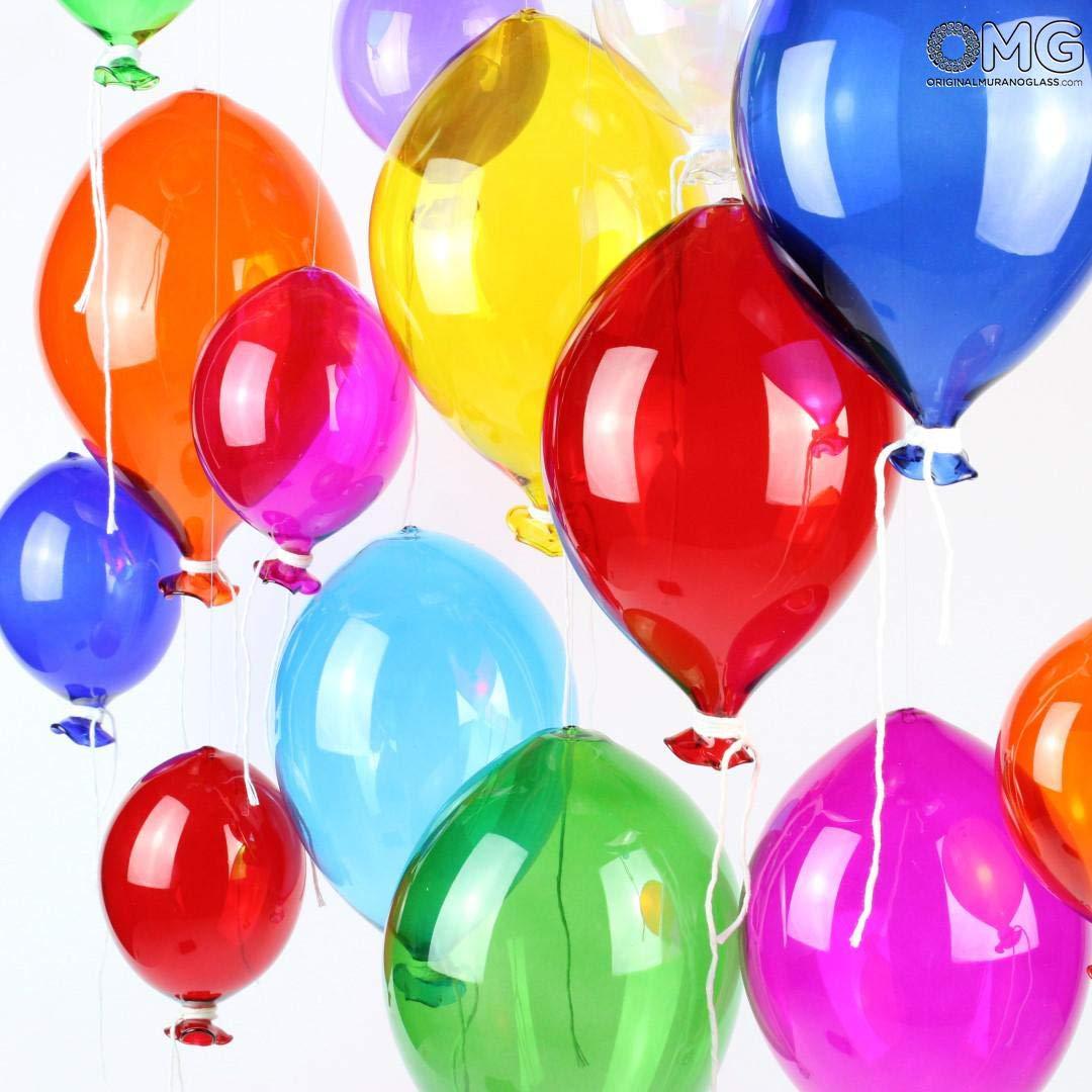 Original Murano Glass OMG Glass Balloon Murano Original - to Hang as Decorations Small