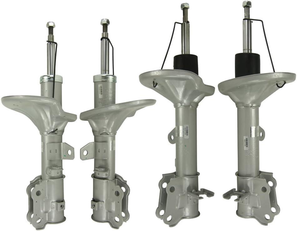 Silver Hose /& Stainless Blue Banjos Pro Braking PBK3057-SIL-BLU Front//Rear Braided Brake Line