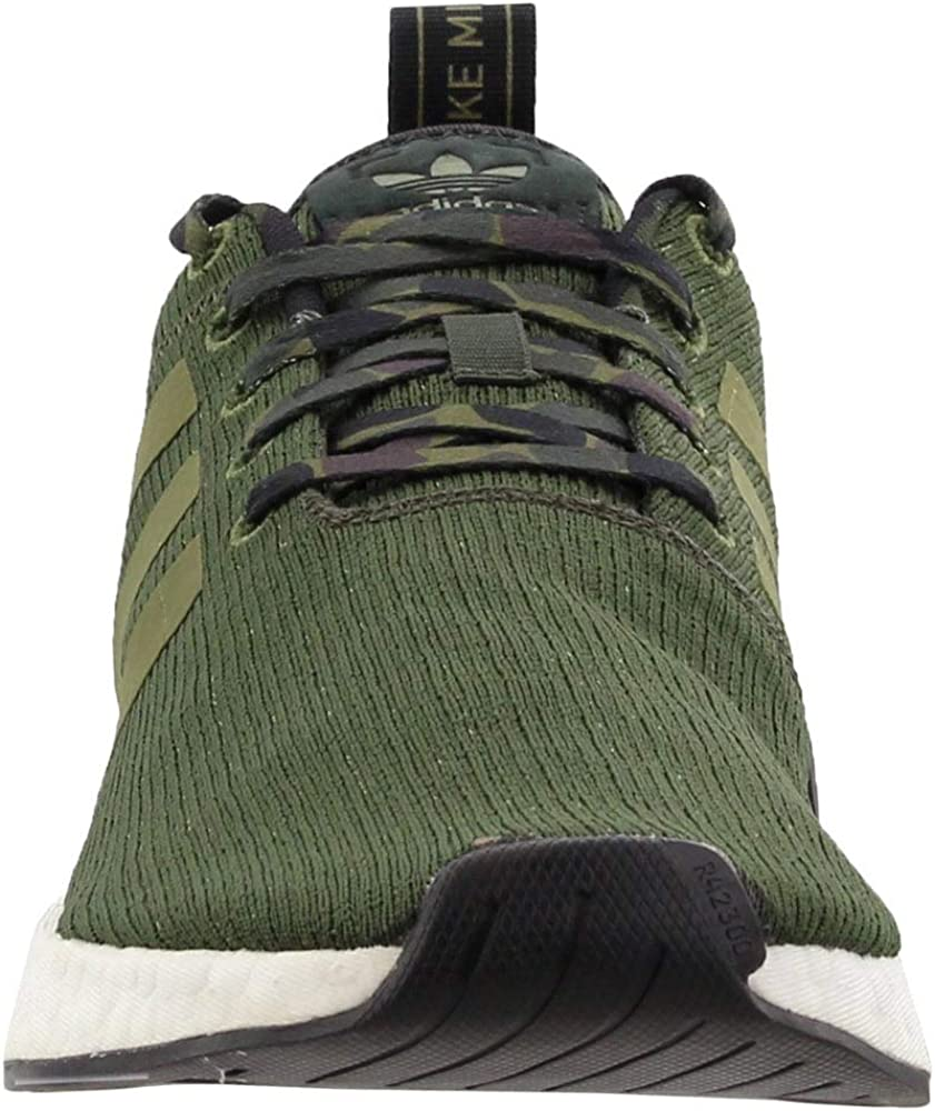 Green 8 adidas Mens NMD/_R2 Casual Sneakers