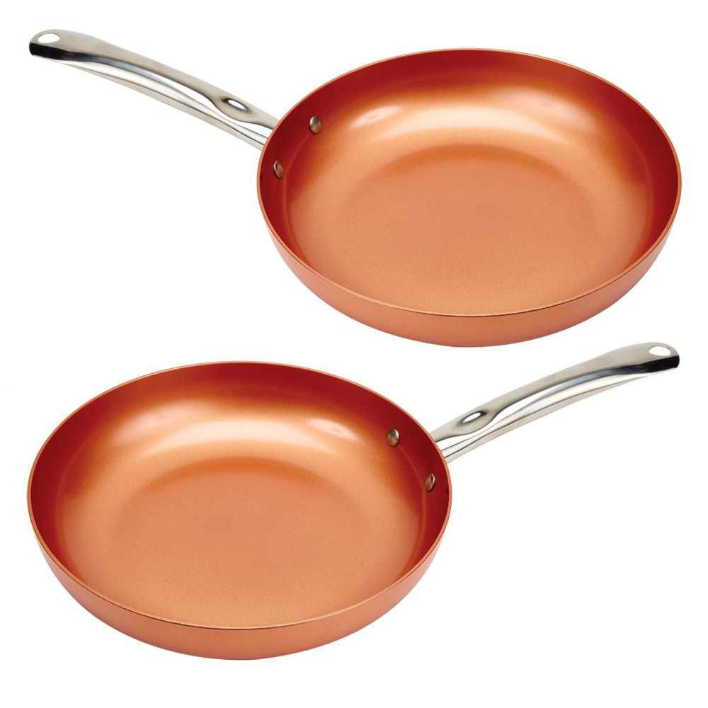 Copper Chef 10'' Round Pan -2 Pack
