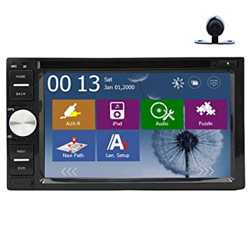 Monitor de audio BT M¨²sica Automotive Radio En la cubierta universal de v¨