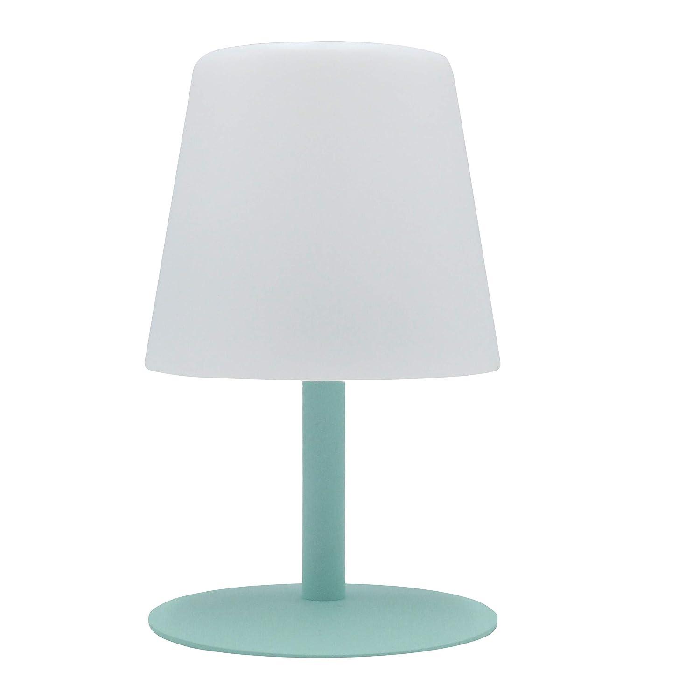 À Batterie De Mini Table Lampe Fil 26cmAbsVert15x15xh26 Lumière Sans Sur Led Jardin Blanche Lumisky Standy Mint shdtQr