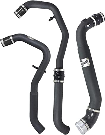 aFe Power 46-20099-B BladeRunner Black 3 Intercooler Cold Side Tube with Coupling and Clamps Non-CARB Compliant