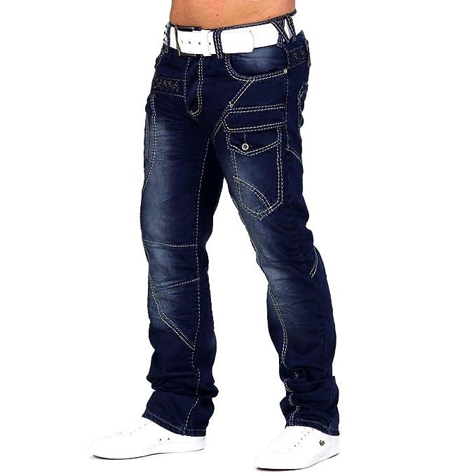 Pantalones vaqueros Para hombre Cosmo cerradura cabe en ...