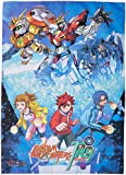 GE Animation Gundam Build Fighters Try-Key Art Fabric Poster Cool Anime Item