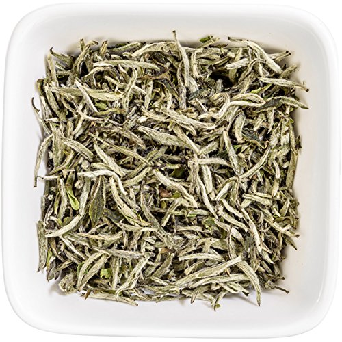 Tealyra - Premium White Silver Needle Tea - Bai Hao Yinzhen - Organically Grown in Fujian China - Superior Chinese Silver Tip White Tea - Loose Leaf Tea - Caffeine Level Low - 110g (4-ounce) by Tealyra (Image #3)