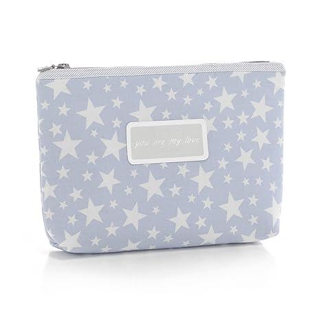9d0006f06 Cambrass Star - Bolsa de aseo, color azul celeste: Amazon.es: Bebé