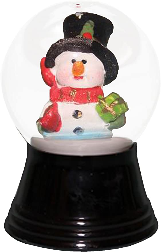 Medium Snowman with Wooden Base-5 H W x 3 D 5 x 3 x 3 Brown Medium Snowman with Wooden Base-5 H W x 3 D 5 x 3 x 3 Brown Alexander Taron Inc. Alexander Taron Importer 2406 Perzy Snowglobe