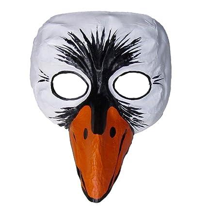 Diseño de cisne de la máscara de teatro de la máscara de la máscara de Animal