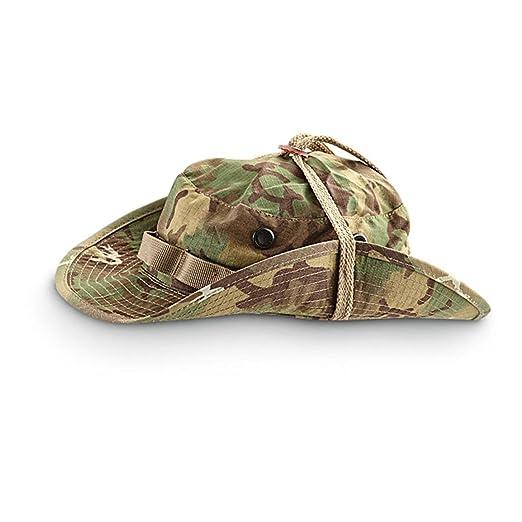 Amazon.com  Miltec Boonie Hat Ripstop Arid Woodland Camo (L)  Clothing 0a5f9e4d731