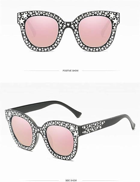 ZJWZ Gafas De Sol Cuadradas, Gafas De Sol De Imitación De ...
