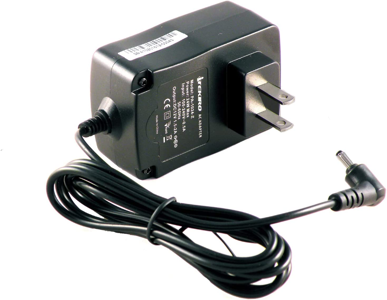 iTEKIRO 6.5 Ft Wall Charger for Acer Aspire Switch 10 SW5-011, SW5-012, SW5-014, SW5-017p; Aspire Switch 11 SW5-111; Acer Iconia A100, A200, A210, A500, A501, Iconia W3, W3-810; Gateway TP Series A60
