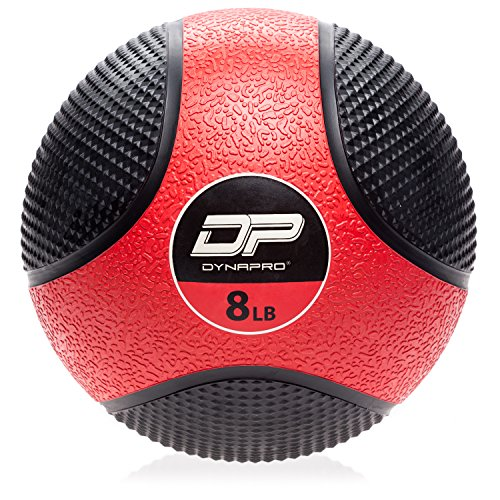 DYNAPRO Medicine Ball | Exercise Ball, Durable Rubber, Consistent Weight Distribution, Comfort...