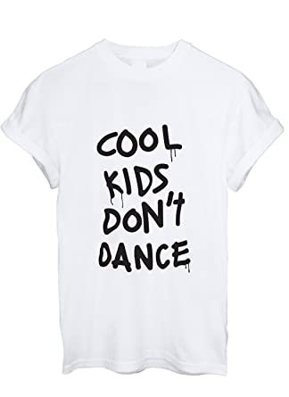 Cool Kids Don't Dance T Shirt: Amazon.co.uk: Clothing