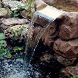 """Beckett WFK8S Stone Look Waterfall Kit with Pump, 7"""" Weir"""