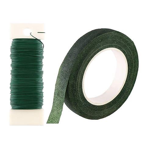 CCINEE - Juego de accesorios de montaje florales de 1,27 cm, cinta ...