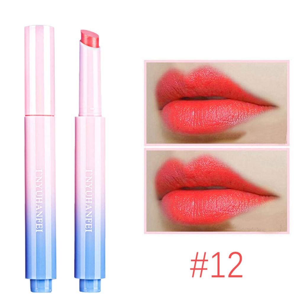 Matte Lipstick H Clearance Sale Ladies Hydrating Long Lasting Lip Gloss Smooth Lips Stick Waterproof Makeup Non-Stick Cup Lipsticks for Women Girls
