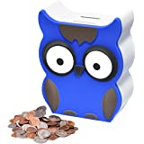 Mommed Piggy Bank, Money Box with Automatic Counting for Boys, Girls and Adults ,Counter Bank with LCD Display, Money Jar wit