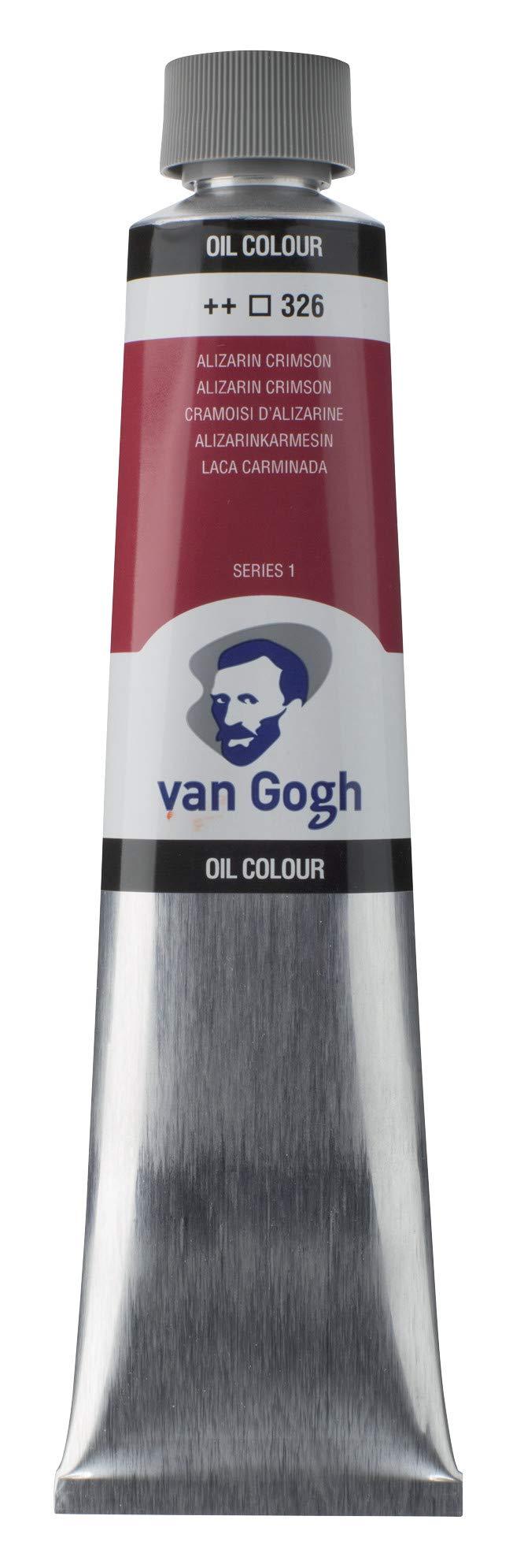 Van Gogh Oil Color Paint, 200ml Tube, Alizarin Crimson 326