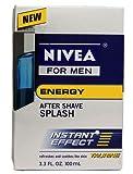 Nivea for Men Energy After Shave Splash, 3.3 Ounce