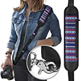 Altura Photo Rapid Fire Vintage Camera Neck Strap w/ Quick Release and Safety Tether